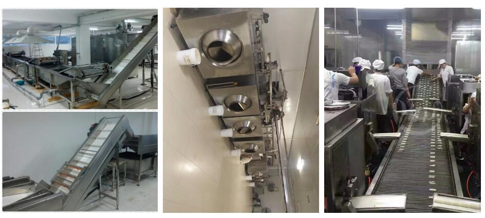 dough puffed food deep fryer machine