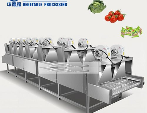 HFG-3000 Packing bag cleaning machine air drying production line
