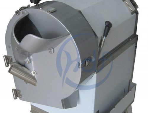 Use of potato dicing machine