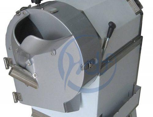 Use of potato dicing machine