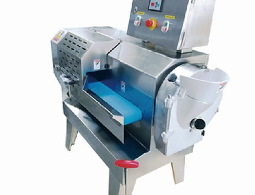 Canteen vegetable cutting machine operation process