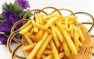 Make Oil Fried French Fries Crispy Method