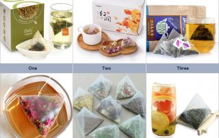 triangle tea bag packaging machine