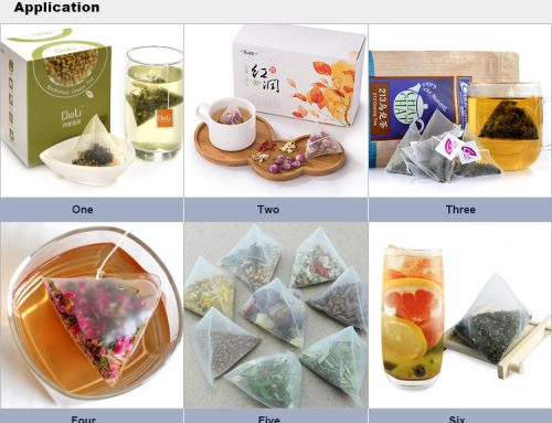 Triangle Bag Tea Packaging Machine