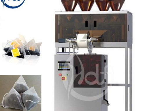 Advantages of the triangle bag tea packaging machine