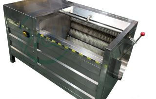 root vegetable peeling machine
