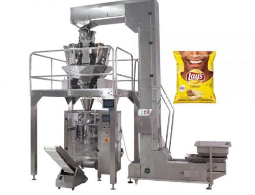 Potato chips/french fries packing machine with 10heads weighter