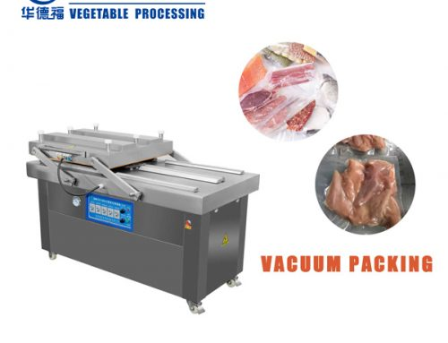 HZK-600 double chamber type vacuum packing machine