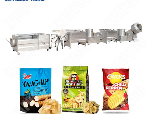 Semi-automatic potato chips making machine french fries production line