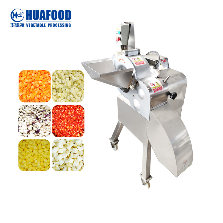 Carrot dicing machine
