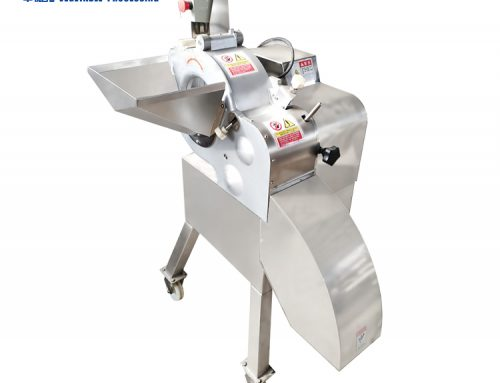 HQC-612D Large vegetable and fruit dicing machine salad cutting machine