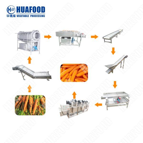 Vegetable washing and drying machine