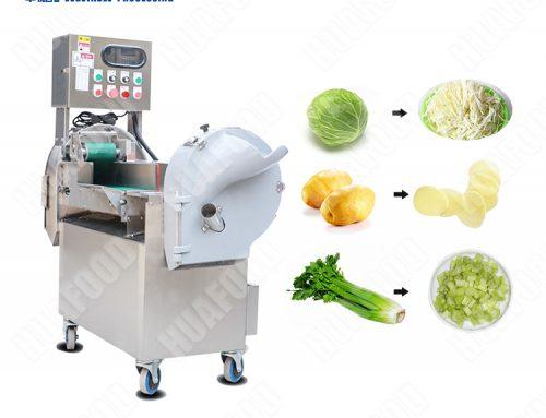 HQC602 vegetable cutting machine slicer machine