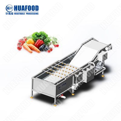Fruit and vegetable cleaning machine