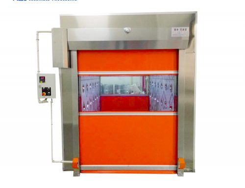 Clean room automatic door air shower