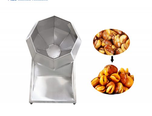 HBT-500 snack food flavoring potato chips drum seasoning machine