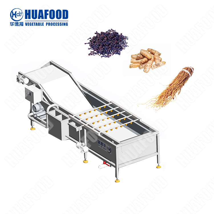 Jujube ginger cleaning machine melon and fruit cleaning machine