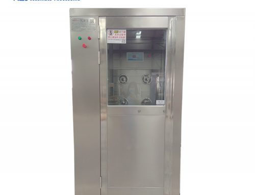 Single person double sides cleanroom air shower room