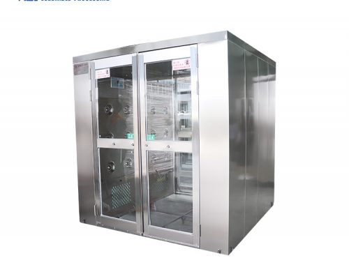 Automatic induction door air shower clean room equipment