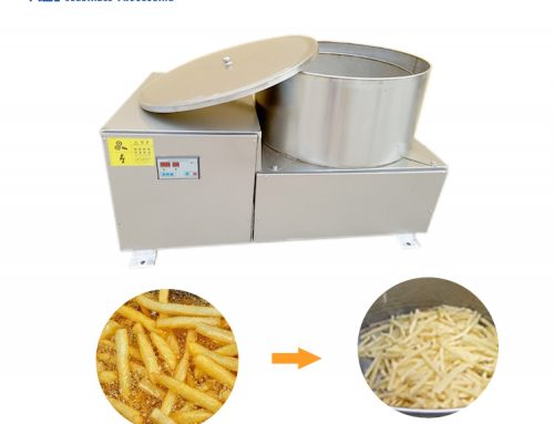 HTY-400 centrifugal food deoiling machine potato french fries dryer machine
