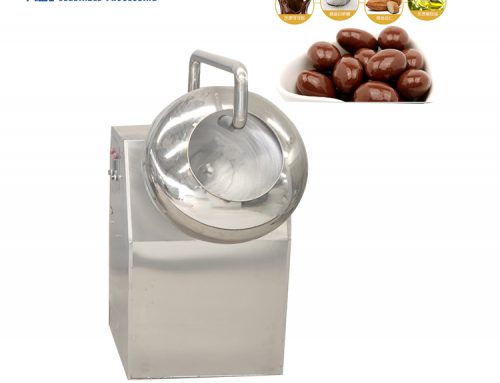 HGY-1000 automatic tablets coating equipment peanut chocolate coating machine