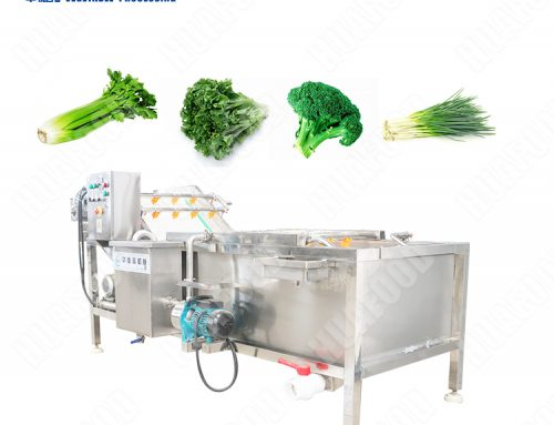 Automatic Air Bubble Washing Machine for Vegetable