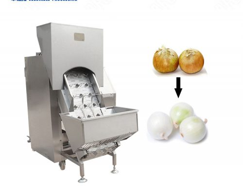 High efficiency industrial automatic onion peeler machinery skin peeler with best price