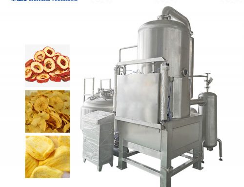 Vacuum Frying Machine For Fruits And Vegetables