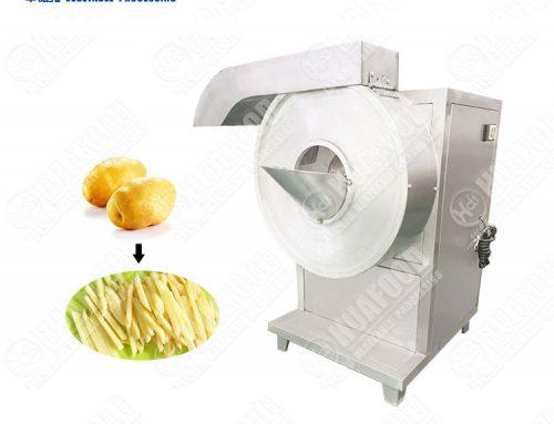 French Fries Stainless Steel Sweet Potato Stick Cutting Machine