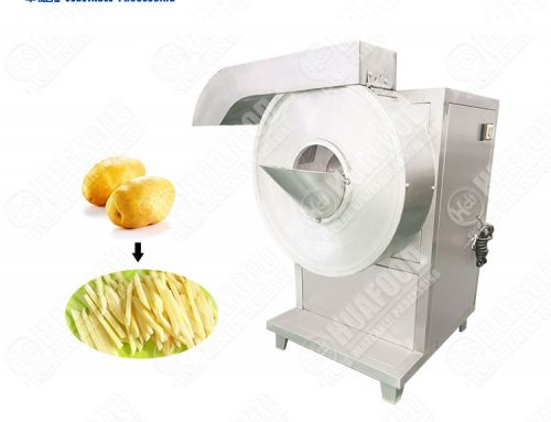 French Fries Stainless Steel Sweet Potato Stick Cutting Machine