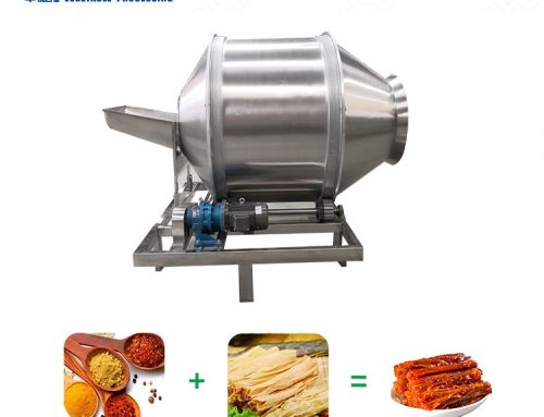 Mixing Drum Machine Cone Shaped Agitation Series Mixer For Powder