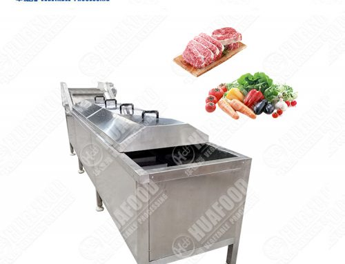 Vegetable Carrot Cooking Blanching Sterilization Machine