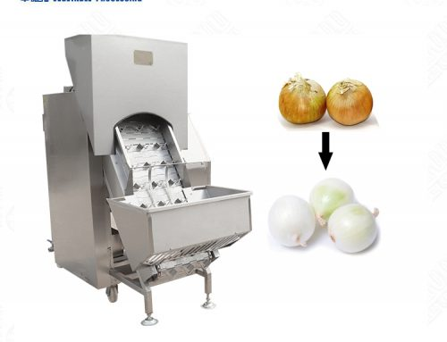 Onion peeling machine stainless steel skin peeler price