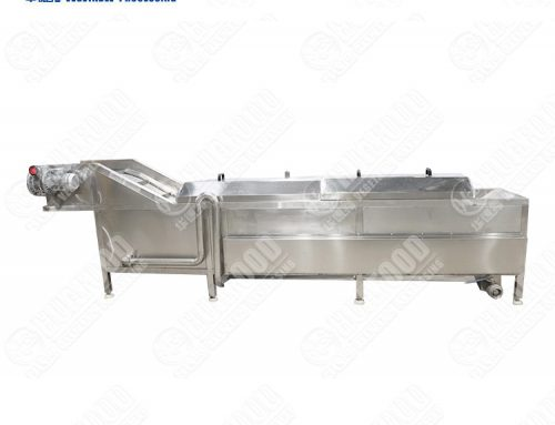 eco friendly blanching machine for potato chip