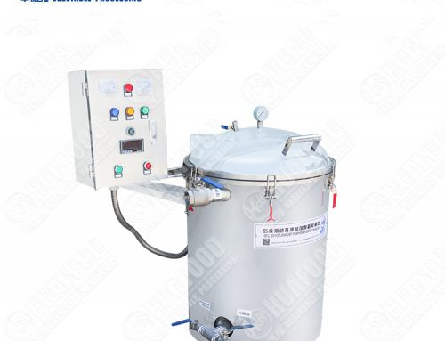 Food grade used catering oil filter machine
