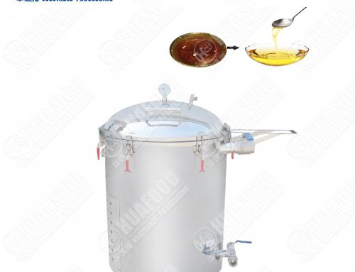 Energy saving portable fryer filter machine
