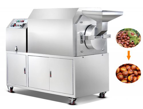 Stainless steel drum sesame roaster machine/sesame toaster machine