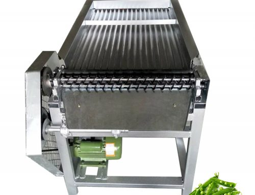 Automatic pea skin peeling machine / green soybean huller / pea sheller