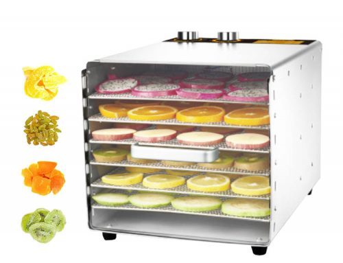 Hot sale Stainless steel 16 layers rotary fruit food dehydrator