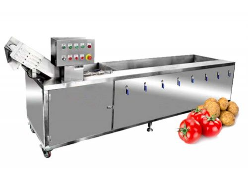 Vegetable Fruit Washing Machine Washer Ozone Disinfect Restaurant Bubble Washing Machine