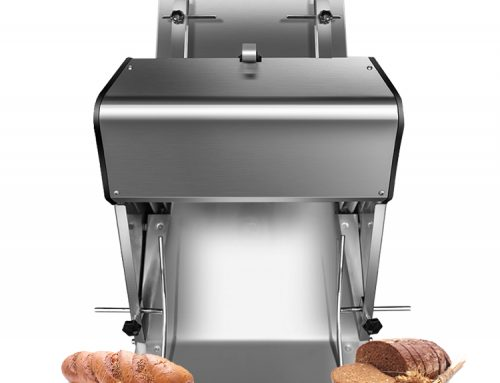 Commercial Electric Rotary Toast Cutter Bread Slicer Loaf Cutting Machine