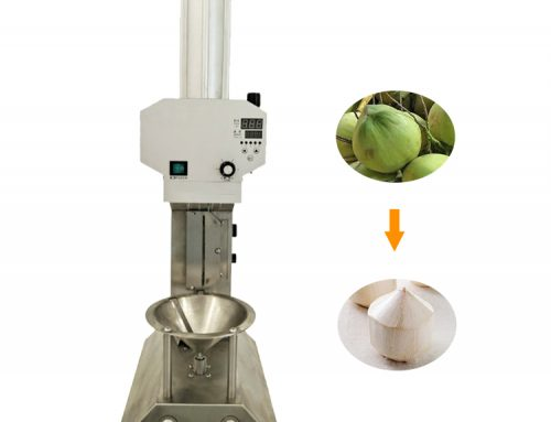 Small young coconut peeler machine hot sale In Philippines