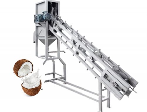 Green Coconut Halving And Juicing Machine