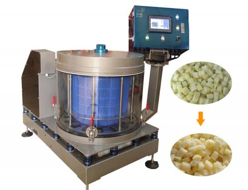 Full automatic centrifugal dewatering fruit vegetable dehydrator