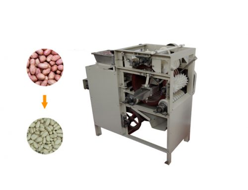 Soaked Cocoa Bean Pea Pine Nuts Wet Way Cashew Peanut Peeling Machine