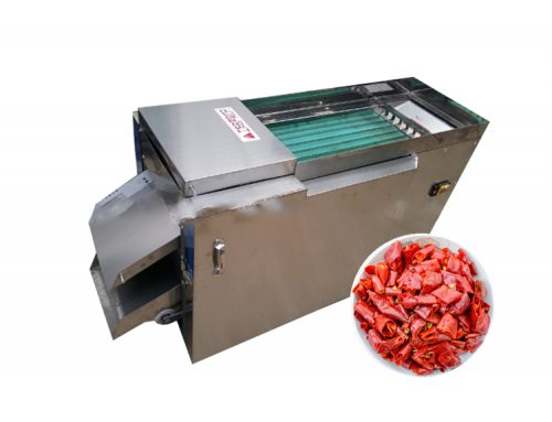 Industrial chilli stem cutting machine