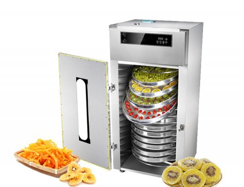 15 layers rotating 360 degrees high-power hot wind fruit drying machine