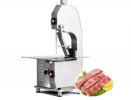 New automatic electric meat and pork bone slicer cutting cutter saw machine