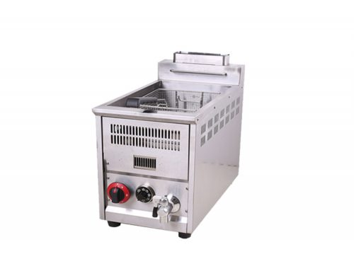 Factory Price Stainless Steel Adjustable Gas Deep Fryer for Restaurant