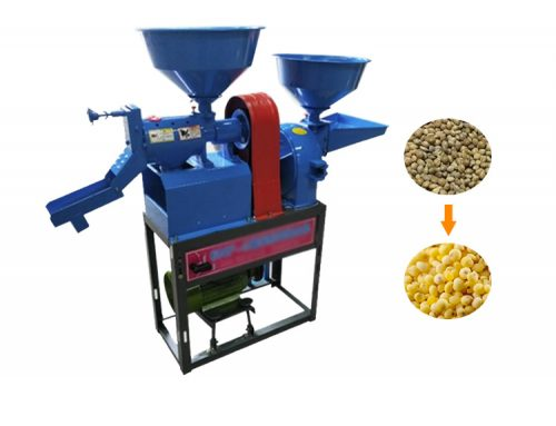 Automatic Rice Mill Machine for Sale / Mini Rice Mill Home Use